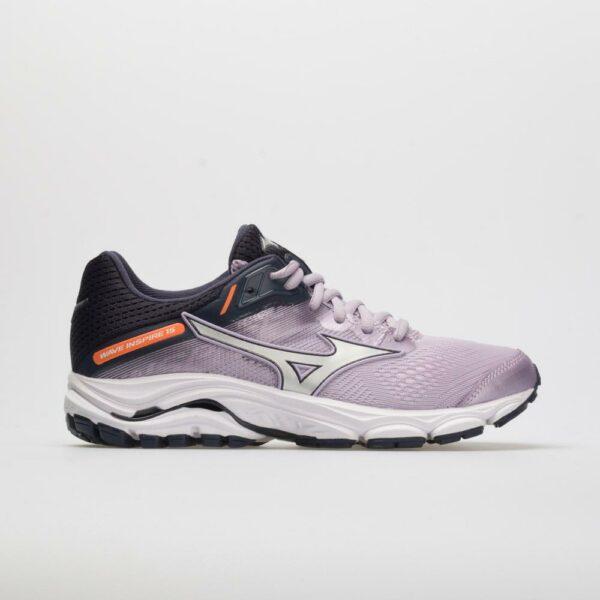 Mizuno Wave Inspire 15 Women's Running Shoes Lavender Frost/Silver Size 9.5 Width B - Medium