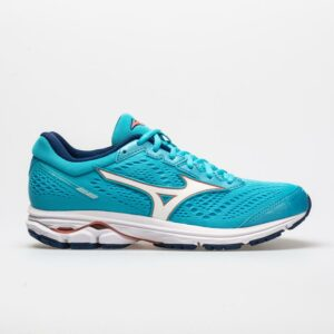 Mizuno Wave Rider 22 Women's Running Shoes Blue Atoll/Georgia Peach Size 9.5 Width B - Medium