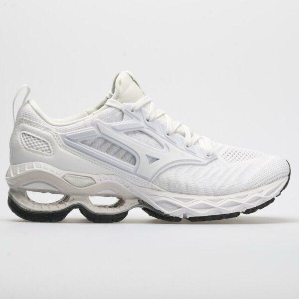 Mizuno Waveknit C1 Women's Running Shoes White Size 7.5 Width B - Medium