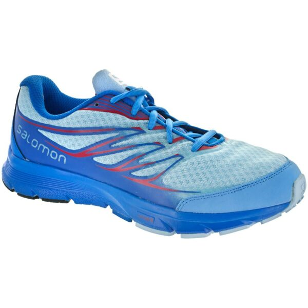 Salomon Sense Link Women's Trail Running Shoes Air/Methyl Blue Size 9.5 Width B - Medium