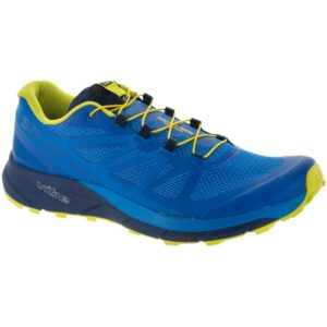 Salomon Sense Ride Men's Trail Running Shoes Snorkel Blue Size 8.5 Width D - Medium