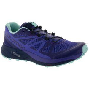 Salomon Sense Ride Women's Trail Running Shoes Parachute Purple Size 8 Width B - Medium