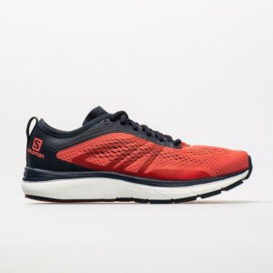 Salomon Sonic RA 2 Women's Running Shoes Dubarry/Navy Blazer/White Size 6.5 Width B - Medium