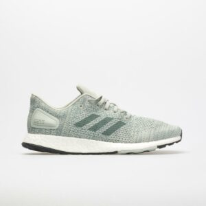 adidas Pureboost DPR Women's Running Shoes Ash Silver/Raw Green/Aero Green Size 11 Width B - Medium