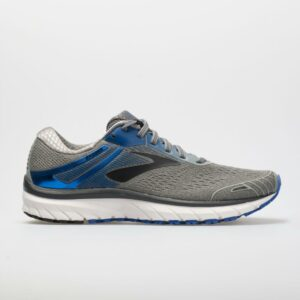 Brooks Adrenaline GTS 18 Men's Running Shoes Grey/Blue/Black Size 15 Width 4E - Extra Wide