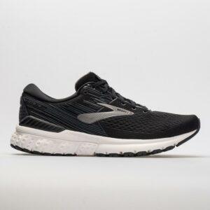 Brooks Adrenaline GTS 19 Men's Running Shoes Black/Ebony/Silver Size 9.5 Width D - Medium