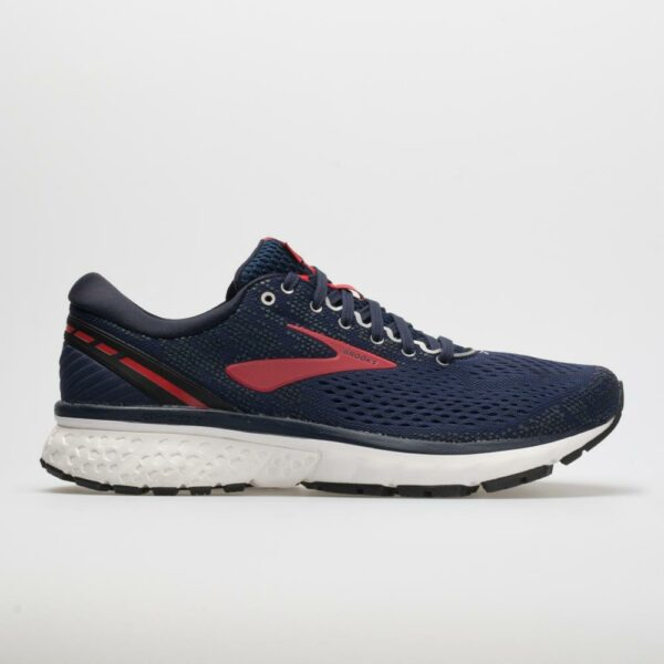 Brooks Ghost 11 Men's Running Shoes Navy/Red/White Size 10.5 Width D - Medium