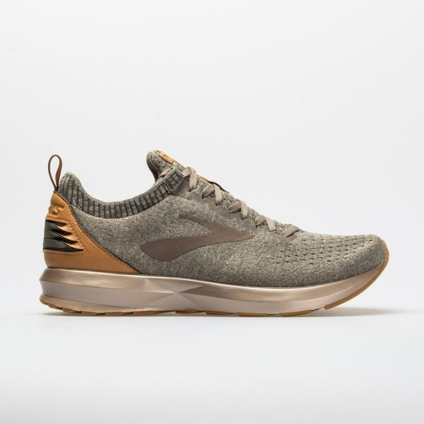 Running Shoes Tan/Brown/Wood Size