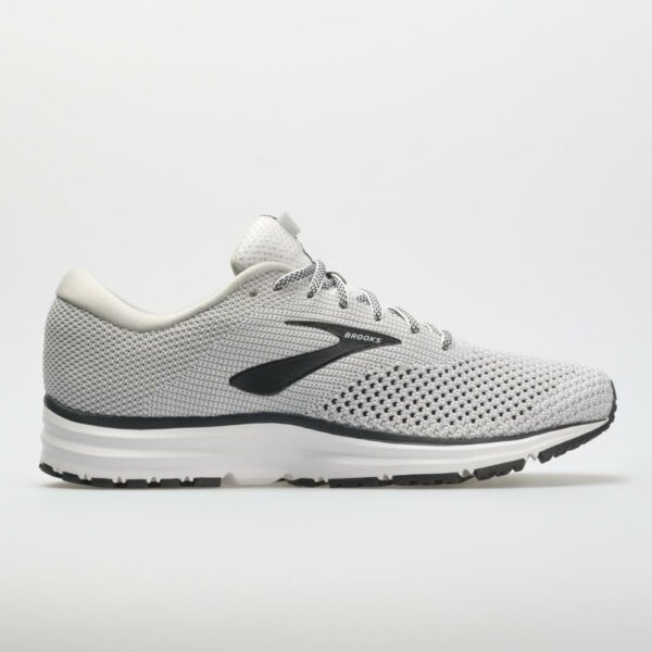 Brooks Revel 2 Men's Running Shoes White/Grey/Black Size 12.5 Width D - Medium