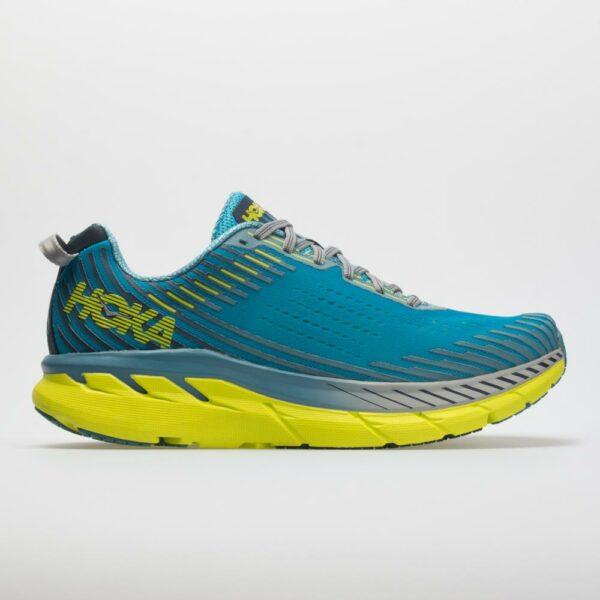 Hoka One One Clifton 5 Men's Running Shoes Caribbean Sea/Storm Blue Size 13 Width D - Medium