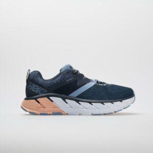 Hoka One One Gaviota 2 Women's Running Shoes Mood Indigo/Dusty Pink Size 8.5 Width B - Medium
