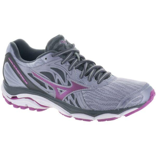 Mizuno Wave Inspire 14 Women's Running Shoes Dapple Grey/Clover Size 7.5 Width D - Wide