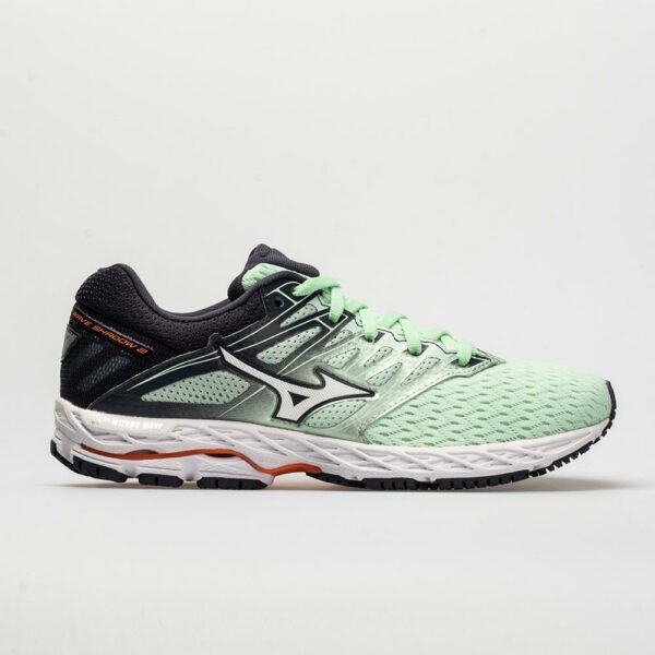 Mizuno Wave Shadow 2 Women's Running Shoes Misty Jade/White Size 7.5 Width B - Medium