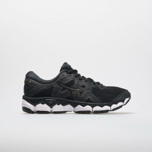 Mizuno Wave Sky 2 Women's Running Shoes Black Size 10.5 Width B - Medium