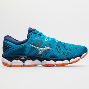 Mizuno Wave Sky 2 Women's Running Shoes Hawaiian Ocean/Bird Of Paradise Size 9 Width B - Medium