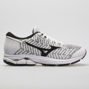 Mizuno Waveknit R2 Women's Running Shoes White/Black Size 6.5 Width B - Medium