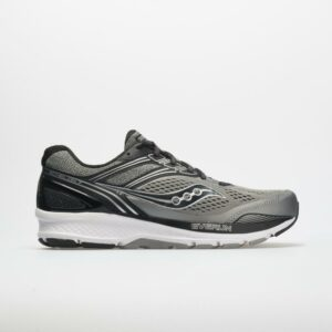 Saucony Echelon 7 Men's Running Shoes Gray/Black Size 8.5 Width 4E - Extra Wide