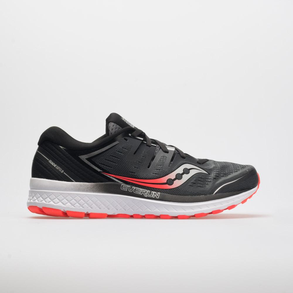 83904a1c Saucony Guide ISO 2 Men's Running Shoes Black/Gray Size 10 Width EE - Wide