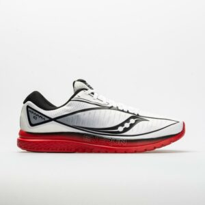 Saucony Kinvara 10 Men's Running Shoes White/Red/Black Size 11.5 Width D - Medium