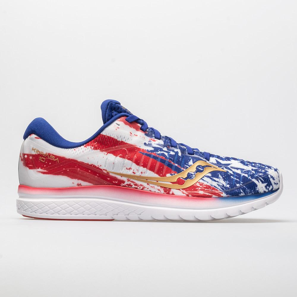 8800d524 Saucony Kinvara 10 Old Glory Limited Edition Men's Running Shoes Size 10  Width D - Medium