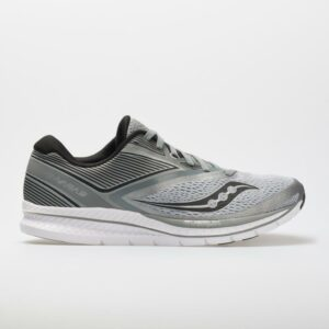 Saucony Kinvara 9 Men's Running Shoes Grey/Black Size 12.5 Width D - Medium