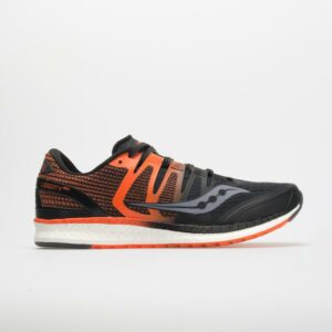 Saucony Liberty ISO Men's Running Shoes Black/Orange Size 12 Width D - Medium