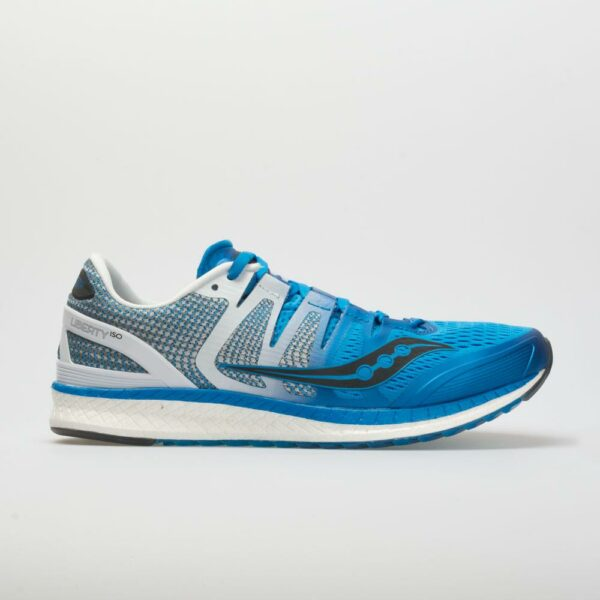 Saucony Liberty ISO Men's Running Shoes Blue/White/Black Size 11 Width D - Medium