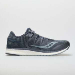 Saucony Liberty ISO Men's Running Shoes Gray/Fog Size 10 Width D - Medium