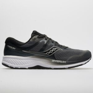 Saucony Omni ISO 2 Men's Running Shoes Gray/Black Size 11.5 Width D - Medium