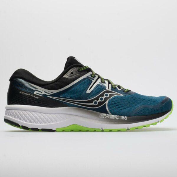 Saucony Omni ISO 2 Men's Running Shoes Marine/Silver Size 14 Width D - Medium