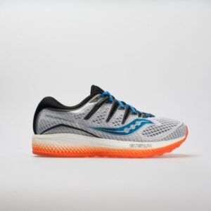 Saucony Triumph ISO 5 Men's Running Shoes White/Black/Orange Size 13 Width D - Medium