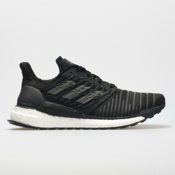 adidas Solar Boost Men's Running Shoes Black Size 8.5 Width D - Medium