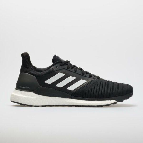 adidas Solar Glide Men's Running Shoes Black/White Size 12.5 Width D - Medium