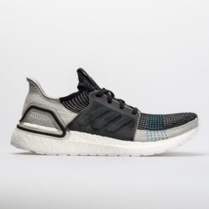 adidas Ultraboost 19 Men's Running Shoes Core Black/Grey/Shock Cyan Size 9.5 Width D - Medium