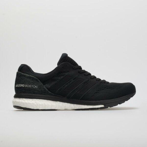 adidas adizero Boston 7 Men's Running Shoes Core Black/White/Carbon Size 8 Width D - Medium