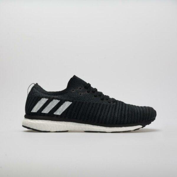 adidas adizero Prime Men's Running Shoes Core Black/White/Carbon Size 9.5 Width D - Medium